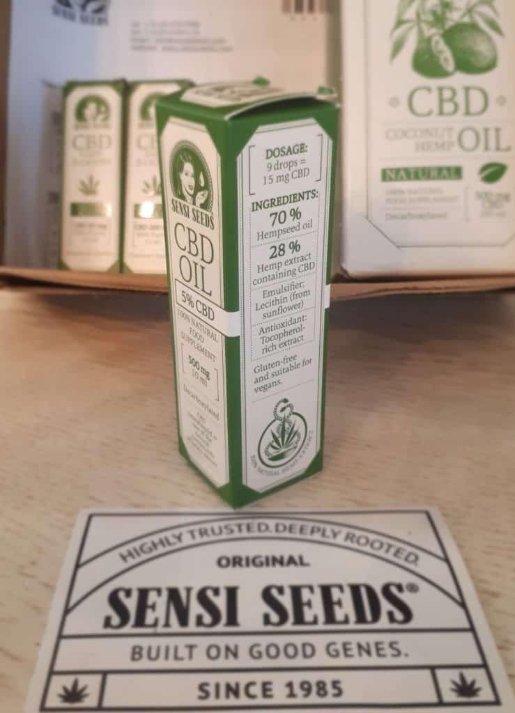 huile de cbd sensi seeds 5%