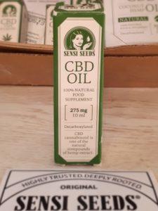huile cbd sensi seeds 275 mg