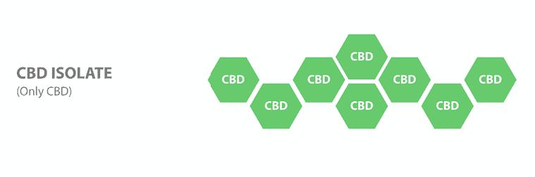 L'isolat de CBD est un des principaux spectres de CBD