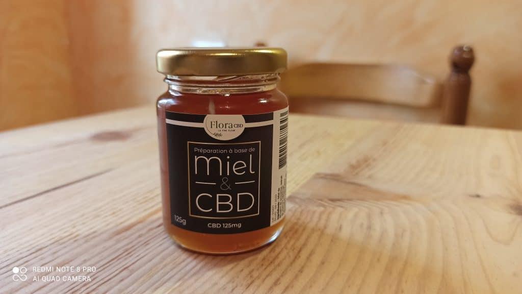 Miel de cannabis CBD de Flora CBD