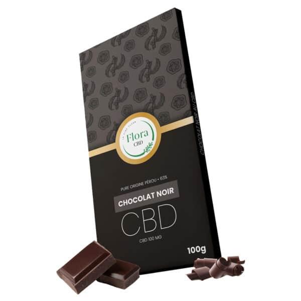 Chocolat noir au cannabis CBD