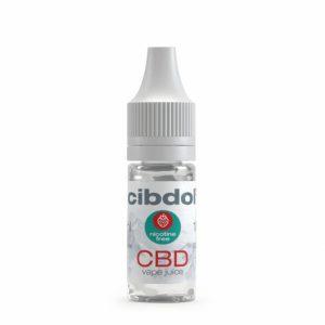 Tests et avis sur le e liquide CBD de 500 mg de Cibdol