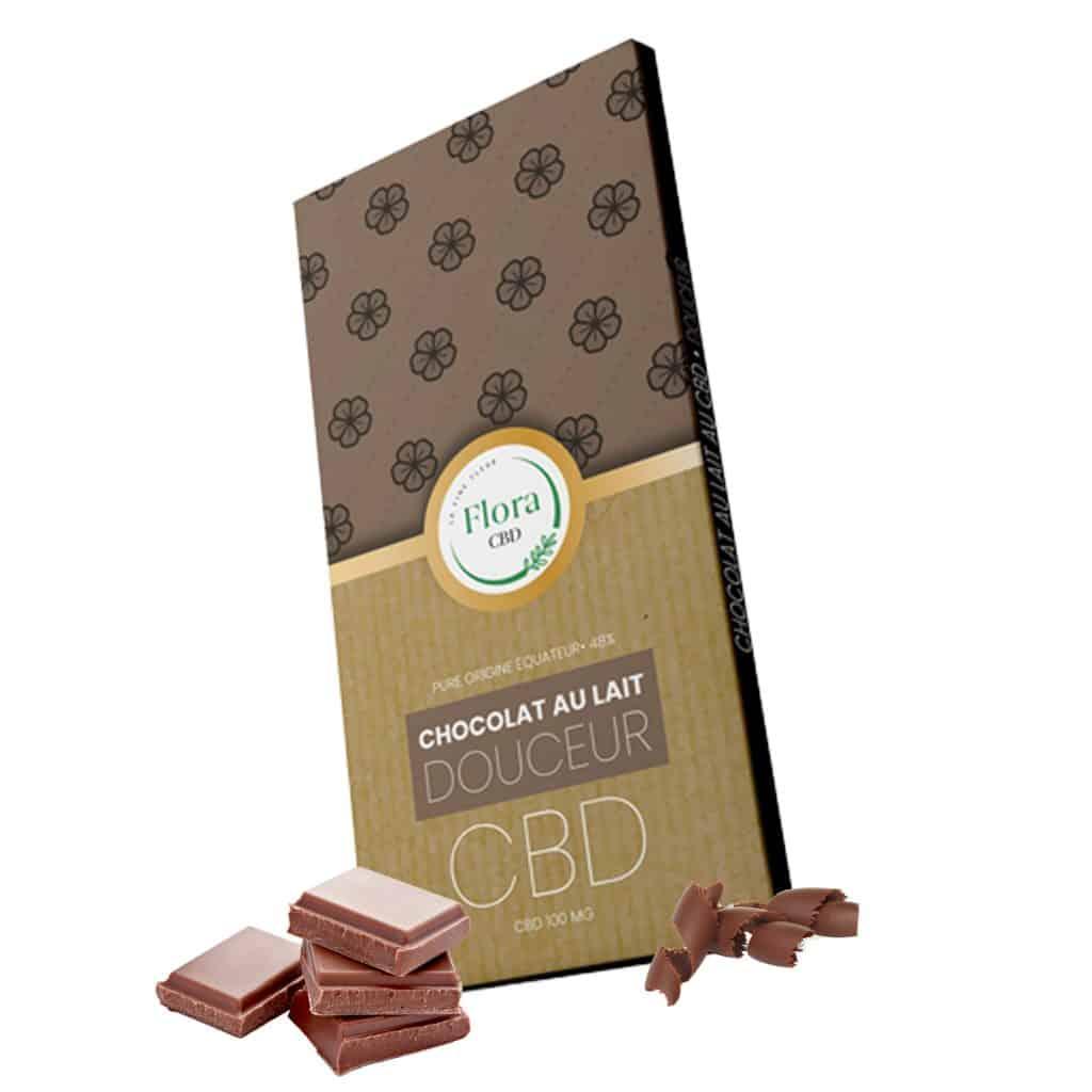 chocolat au lait et cannabis cbd