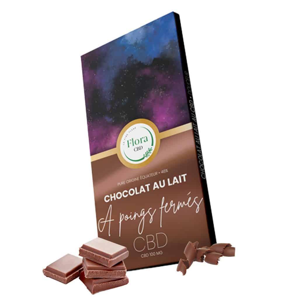 chocolat au lait au cannabis cbd
